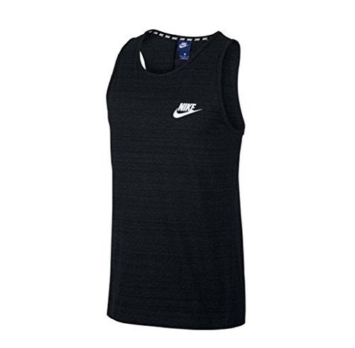 Sportswear Veste mélange bianco Advance Nero Nike Homme 15 vwPdPtq