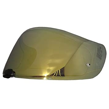 HJC Helmet Shield / Visor HJ-20M(Gold, Silver, Blue) For FG-17, IS-17, RPHA ST helmets, Bike Racing Motorcycle Helmet Accessories - Made in Korea (Blue)