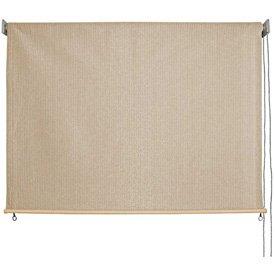 Keystone Fabrics Outdoor Roller Sun Shade, 8-Feet by 6-Feet, Monterey (Shade Outdoor Rollup)