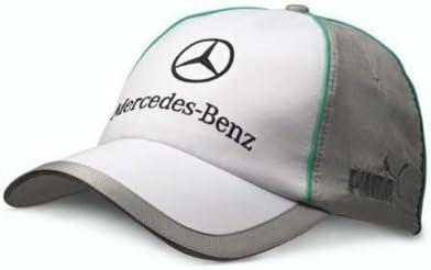 Mercedes GP - Gorra, diseño de Mercedes 2012, color blanco y gris ...