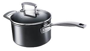 Le Creuset Toughened Nonstick 2-Quart Saucepan with Lid