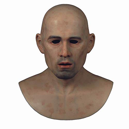 CQNN-2 Young Male Masks Brown Male Realistic Silicone