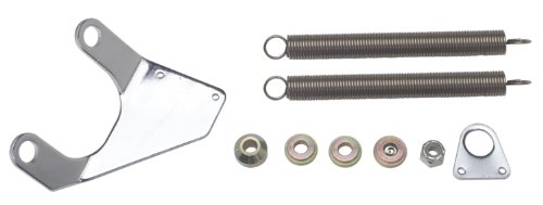 Trans-Dapt Performance 2386 Throttle Return Spring Kit Chrome Plated Steel Incl. Cable Bracket/Transmission Kick Down Cable Bracket/Springs/Mounting Hardware Fits Chevy Big Block Throttle Return Spring Kit