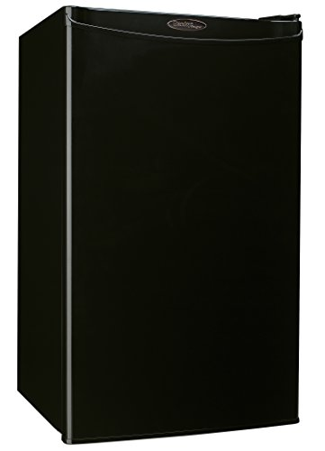 Danby Compact Mini Bar Dorm Home Beverage Cooler Fridge Refrigerator, Black by Danby