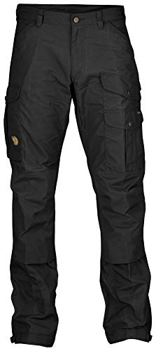 Fjallraven - Men's Vidda Pro Trousers Regular, Black/Black, 52
