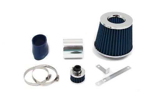 99 00 01 02 03 04 VW Golf / Jetta / GTI with 1.8T / 2.0L / VR6 Short Ram Air Intake Blue (Include Air Filter) SR#VW004B