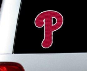 Philadelphia Phillies Die-Cut Window Film - Large Die Cut Logo Window Film