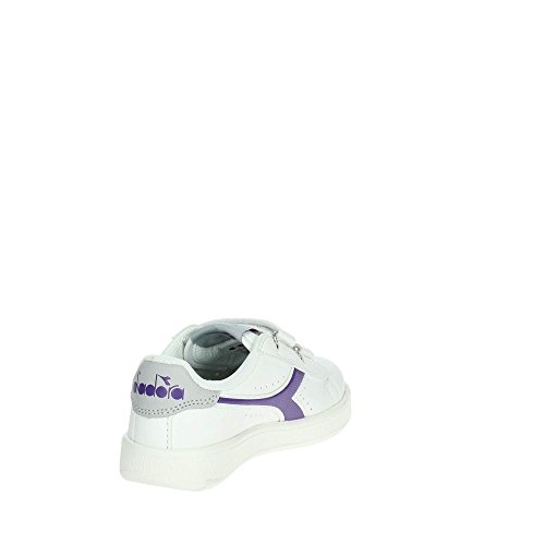 viola Bambina 173324 Bianco Bassa 101 Sneakers Diadora 34 C7318 X0wf0q
