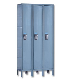 Maintenance-Free Quiet One-Wide Single-Tier Locker Assembled 18