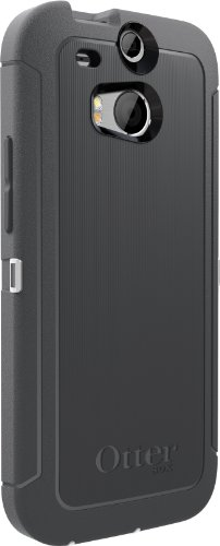 OtterBox Defender Case for HTC One M8 - Frustration-Free Packaging - Black