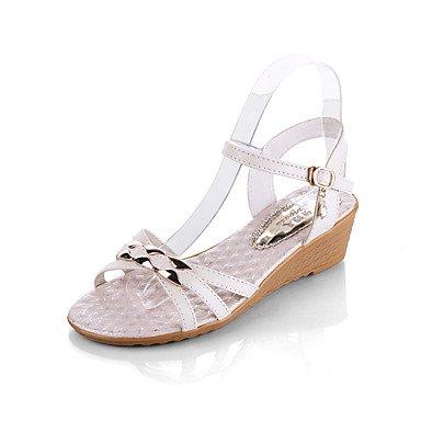 RTRY Las Mujeres Talones Del Club Primavera Verano Zapatos Glitter Wedding Party &Amp; Vestido De Noche Plataforma Casual Sequin Hebilla US8 / EU39 / UK6 / CN39