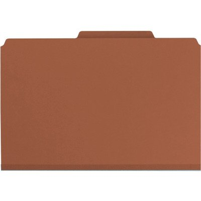 Pockets Classification - Smead Pressboard Classification File Folder with Pocket-Style Divider and SafeSHIELD Fasteners, 2 Dividers, 2