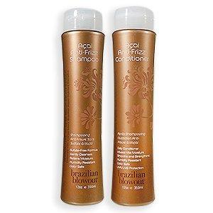 Brazilian Blowout Anti-Frizz Shampoo & Conditioner, Pack of 2, 12 fl oz each