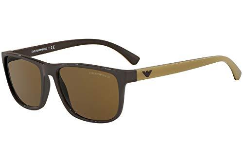 Emporio Armani EA4087 Sunglasses Brow w/Brown Lens 556273 EA ()