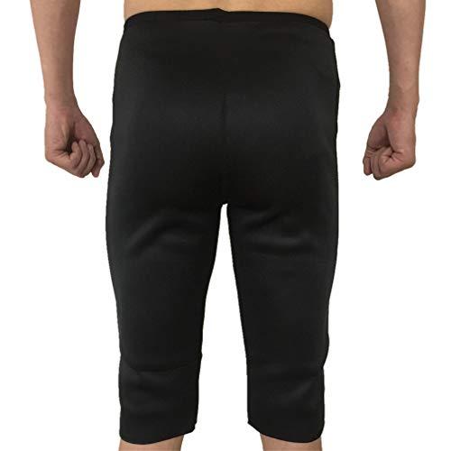 Ginnastica Bruciare Canotta Sudare Shaper Sauna Yoga Pantaloncini Uomo Sauna Adatta Neoprene Grassi Fitness Pantaloni Pantaloncini NOVECASA i per Body A4v1Owqxq