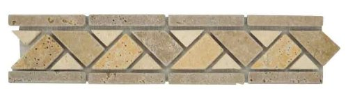 (ICJ 83002 2-Inch by 12-Inch Travertine Accent)