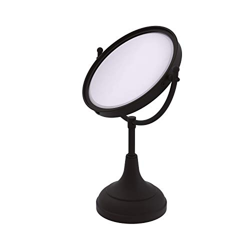 Allied Brass DM-2/3X-ORB 8-Inch Mirrow with 3x Magnification, 15-Inch H, Oil Rubbed -