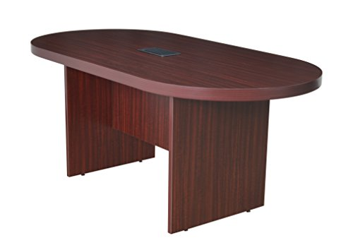 Regency Legacy 71-inch Racetrack Conference Table with Power Data Grommet- Mahogany by Regency