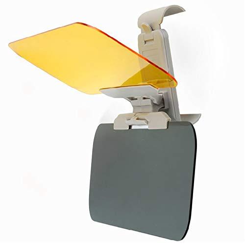 MARSTOMOON Car Sun Visor, Universal Automobile Anti-UV Sunshade for Day and Anti-Glare Driving Visor for Night