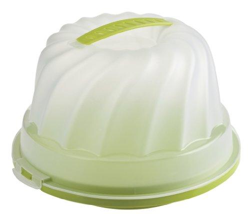 Gugelhupf Kuchenbehälter grün