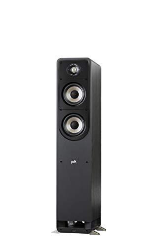 Polk Signature S50e Luidspreker, Zuilluidspreker voor HiFi Home Cinema, Speaker met 150 Watt, Universele Poolklemmen…