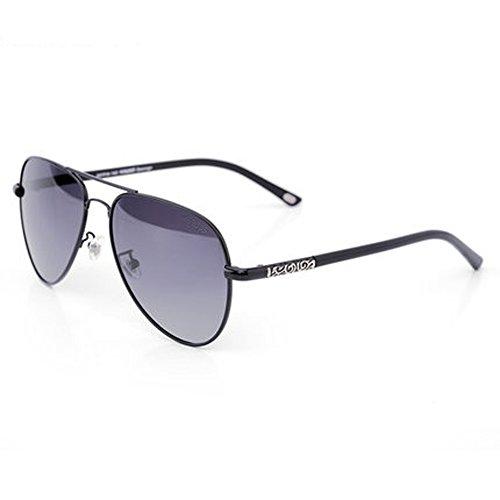 lunettes lunettes soleil soleil polarisées A grenouille lunettes plein Mâle air Mâle conduite lunettes en de de miroir hommes wPOq0