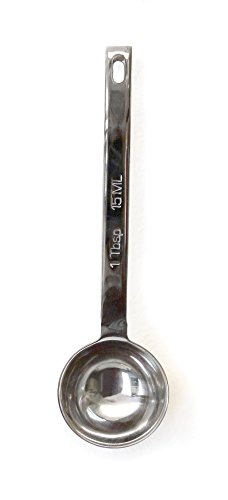 Half Sphere Wall - RSVP Endurance Stainless Steel 1 Tablespoon Measuring Spoon