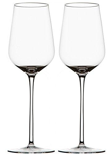 Crystal Wine Glasses Handmade for Red Wine Glasses White Wine Glasses Lead-free Set of - Deep Burgundy Art