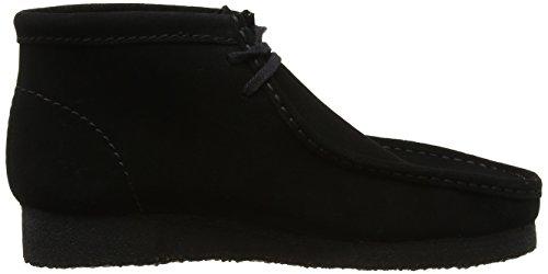Boot Clarks Originals Uomo Nero Mocassini Black Sde Wallabee wxBxZ