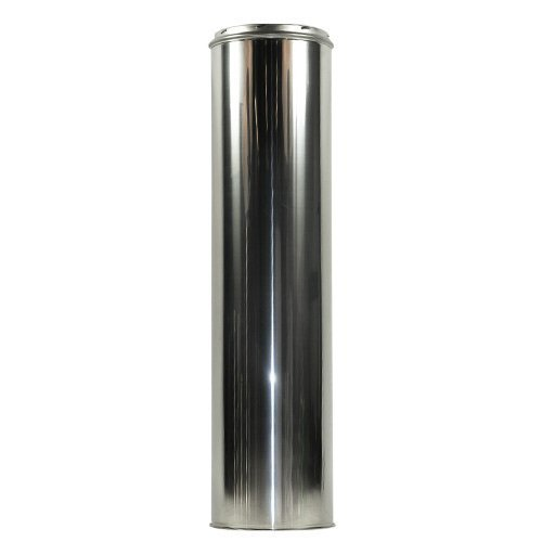 Shasta Vent 8' x 36'' Class A, All Fuel, Double Wall, Insulated, SS Chimney Pipe.  8'' Dia. x 39'' Length by SHASTA VENT