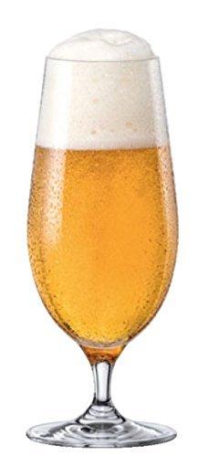 Stemmed Pilsner Glass (RONA City Stemmed All Purpose Water/Beer Pilsner Glass, 15 1/2 oz, Set of 6)
