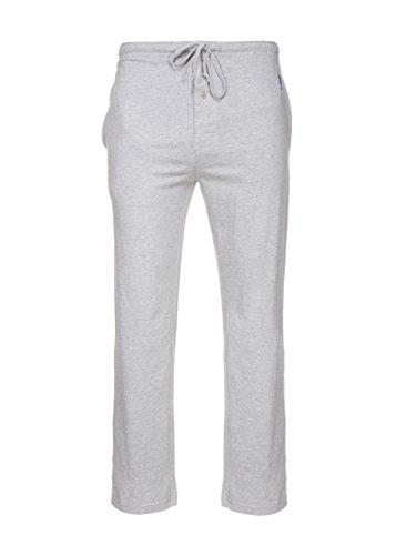 Gray Knit Pants (U.S. Polo Assn. Mens Solid Knit Sleep Pant (Heather Gray, Large))