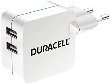 Duracell 2-Port 4.8 A USB-Cargador para Tablet/Smartphone ...