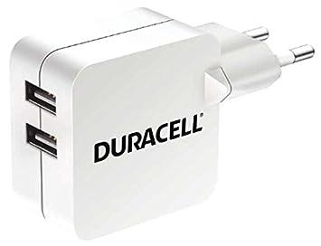 Duracell 2-Port 4.8 A USB-Cargador para Tablet/Smartphone
