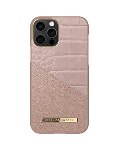 iDeal of Sweden Carcasa Trasera Compatible con iPhone 12, iPhone 12 Pro, Color Rosa