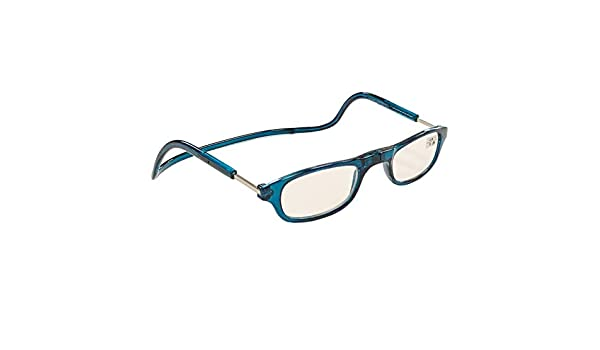 581cdedb6a Sunvision - Gafas de Lectura graduadas con imán Azules 1.50 D: Amazon.es:  Hogar