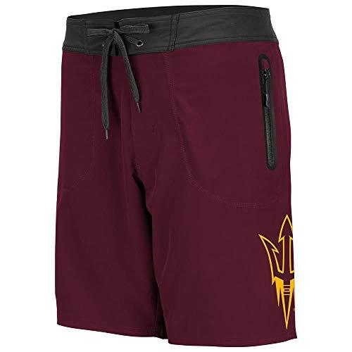 Colosseum Mens Arizona State Sun Devils Lahaina Swim Shorts - L