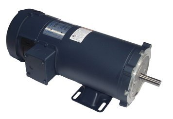 1.5 hp 1750 RPM 180 Volts DC 56C Frame TEFC Leeson Electric Motor # (Motor 56c Frame)
