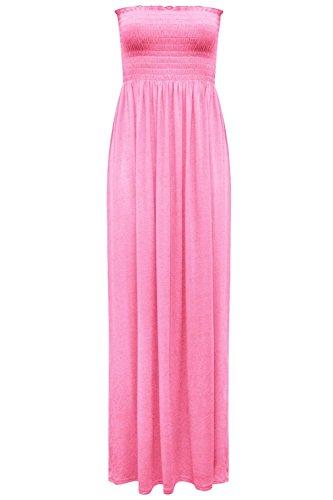 Senza Baby Pink Maniche Fashion Star Vestito Donna fxpqH4U