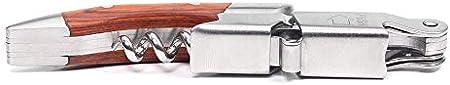 Sacacorchos Abridor De Vino, Sacacorchos Para Camareros Profesionales, Abrebotellas Y Regalo De Aluminio Para Amantes Del Vino