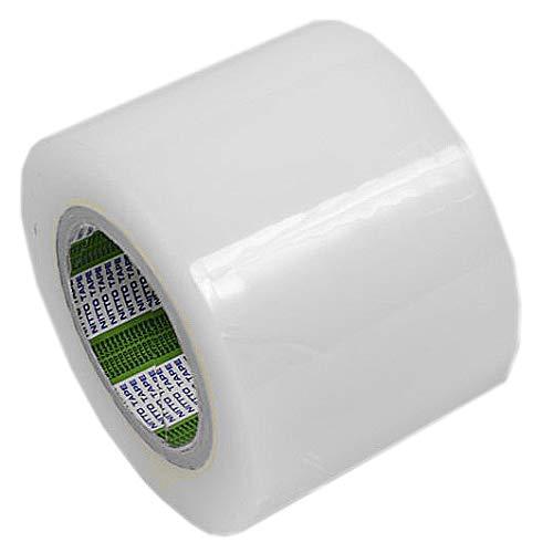 Cinta Adhesiva Ancha Transparente para Reparación de Plástico de Invernaderos, Toldos, Piscinas, Láminas Aislantes, Films para Jardín y Cultivo, Resistente al Exterior Sol UV Lluvia | 10cm x 50m: Amazon.es: Industria, empresas