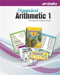 Homeschool Arithmetic 1 Curriculum Lesson Plans for sale  Delivered anywhere in USA