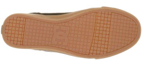 DC Shoes DC Shoes - Schuhe - BRISTOL LE WOMENS BRISTOL LE - D0303214-BB2D - black D0303214-BB2D - Zapatillas de deporte de cuero para mujer Marrón (TBCO/DKCHC TDKD)