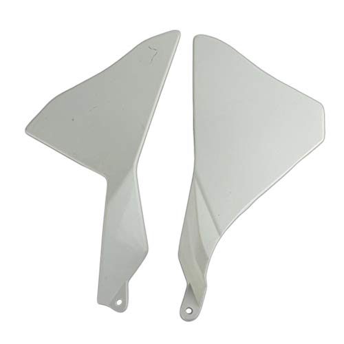 Beautyexpectly Unpainted Left & Right Upper Side Panel Mid Trim Mid Side Panels Fairing Cowling for Yamaha 2015-2016 YZF R1 YZFR1 15 16 Fairing Parts