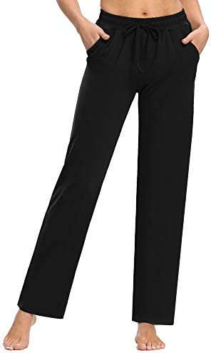 PACBREEZE Women's Yoga Pants Loose Comfy Pajama Pants Casual Pilates Running Workout Sweatpants with Pockets 2