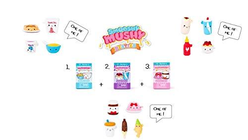Smooshy Mushy Besties Series 4 - Set of 3: 1 Each of Munchies, Snackies and Sweeties