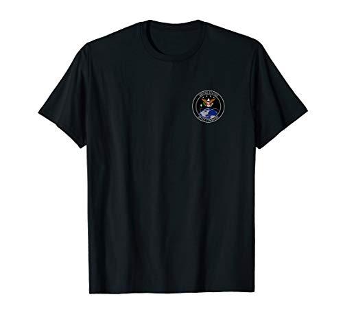 USSPACECOM US Space Command logo uniform ABU t-shirt LEFT