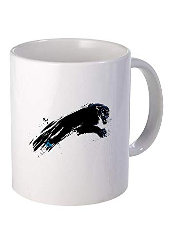 Manglam Mart Games Coffee Mugs- Black Panther Logo Clip Art | Online Game | Ceramic 325 Ml Coffee ()