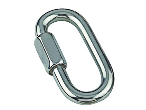 MarineNow Stainless Steel 316 Quick Link Chain Connector Marine Grade 10mm (3/8