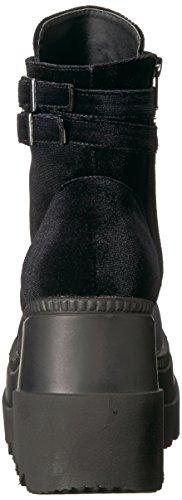 Demonia Womens Shaker-52 Ankle Boot Black Velvet vJi5ktW